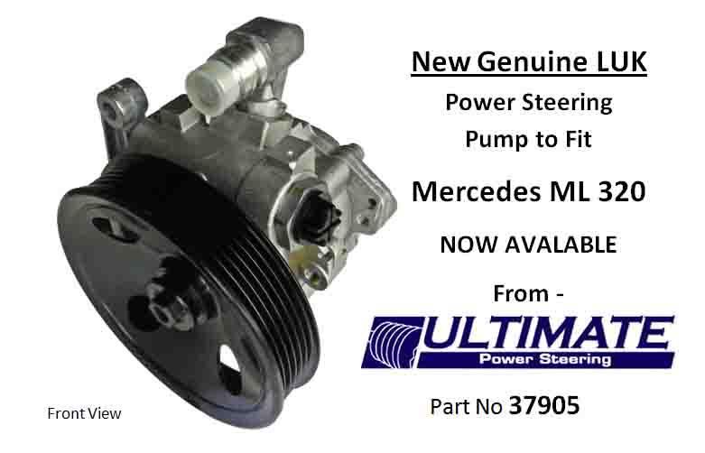 Mercedes ml320 for Mercedes benz ml320 power steering pump