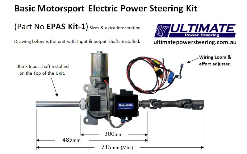 Electric Power Assisted Steering Columns
