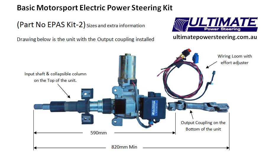 epas kit 2 sizes and extra info photo electric power assisted steering (epas) corsa c electric power steering wiring diagram at bakdesigns.co