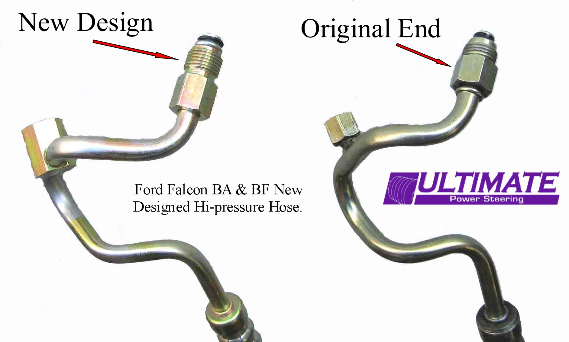 Ford Falcon Ba Bf Xf Alternator Wiring Diagram Power Steering High Pressure Hose