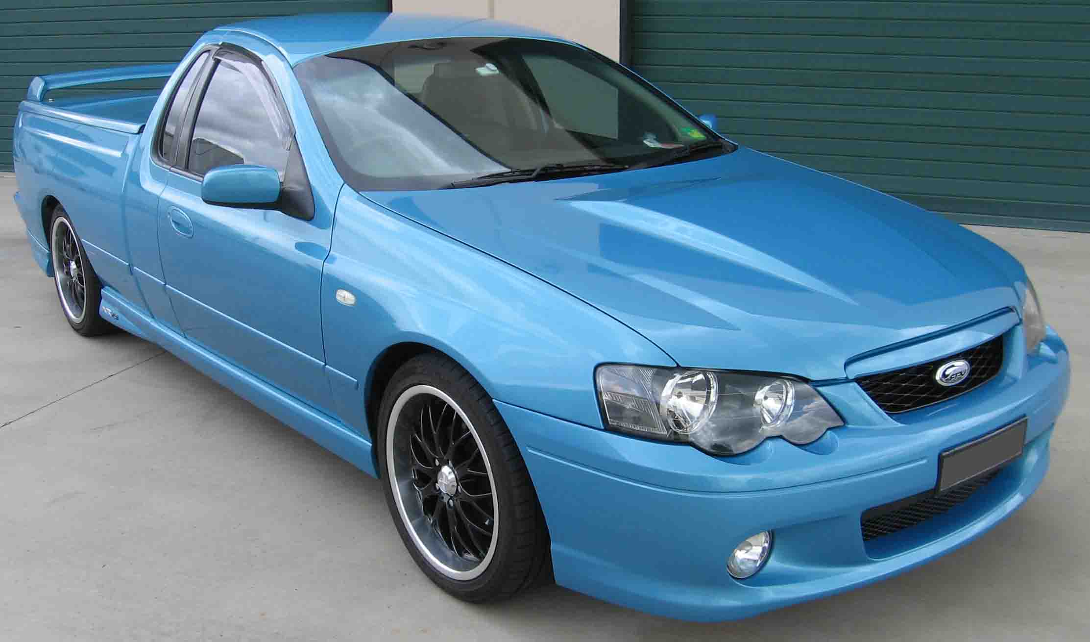ford falcon ba - bf series (9/02 - 1/08)