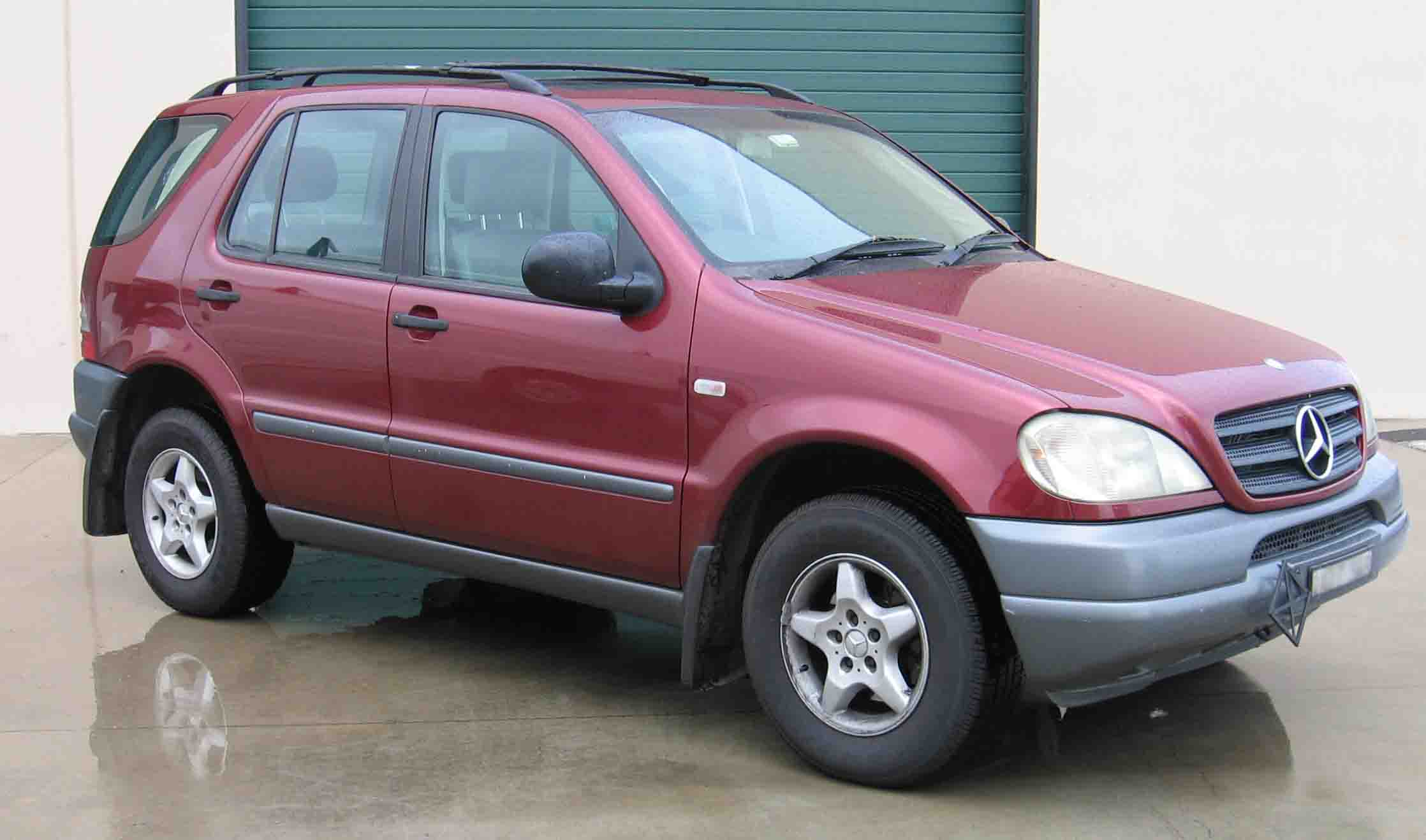 Mercedes Ml 320 on ford bf falcon