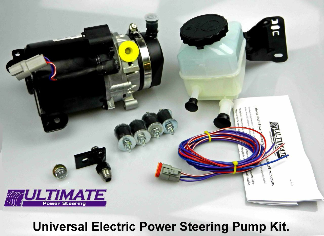 Electric Power Steering Pump Kit Ultimate Subaru Wiring Harness Tutorialpower Supply New