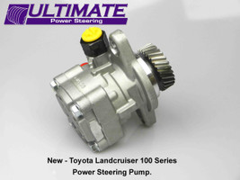 Toyota Landcruiser 100 Series 1HD-FTE Diesel Engine 1/98–7/07 New Steering Pump