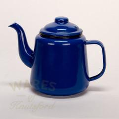Falcon Enamel Tea Pot  Blue