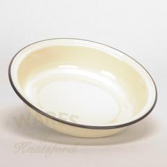 Falcon Cream Enamel Pie Dish  22cm