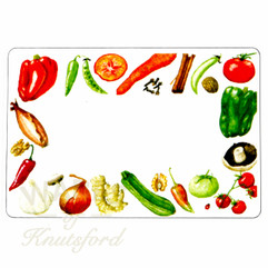 Chutney Preserving Labels, Pickle Preserving Labels - 70mm x 50mm - Mixed Fruit Design - Ideal for Jars 4oz through to Gallon