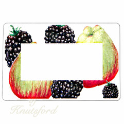 Apple and Blackberry Preserving Labels