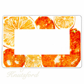 Gorgeous Marmalade Preserving Labels -  70mm x 50mm  - Ideal for Jars 4oz upwards