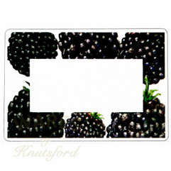Blackberry Jam Jar Labels  -  70mm x 50mm  - Ideal for Jars 4oz upwards