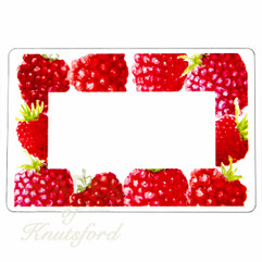 Jam Jar Labels , Perfect for Raspberry Jam - 70mm x 50mm  - Ideal for Jars 4oz through to Gallon