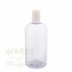 500ml PVC Round Press Cap Bottle