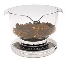 Add & Weigh Kitchen Scale - 3kg (6.5lb)