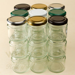 125ml Deluxe Jam and Food Jars - Bargain Packs 200 & 500 (Including Lids and VAT)