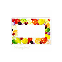 Mixed Fruit Mini Preserving Labels, Mini Jam Preserving Labels, Wedding Favour Labels