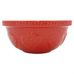 Mixing Bowl Zest Strawberry - 29cm