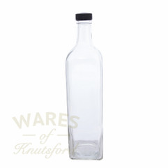 1 Litre Square Marasca Oil Bottle