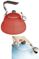 Le xpress Whistling Kettle - Chilli Red