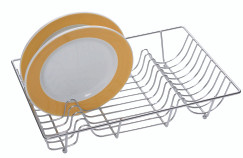 Dish Drainer Chrome Plated