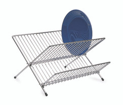 Fold Away Dish Drainer Small