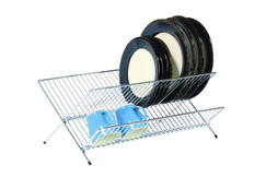 Fold Away Dish Drainer Large