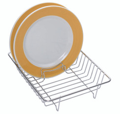 Small Chrome Plated Dish Drainer