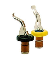 Bottle Stoppers with Lever Arm Action - Bag of 4