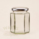 ** LOWEST EVER PRICE ** 195ml Hexagonal Jam Jar - Packs 200 & 500 (Lids and VAT included)