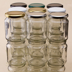 353ml 1lb Honey Jars Bargain Pack (192 including lids)
