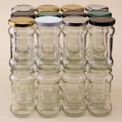 212ml Chutney Jars - bargain pack (192 including lids)