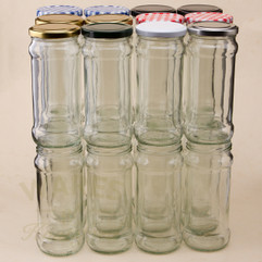 370ml Chutney Jars - bargain pack (192 including lids)