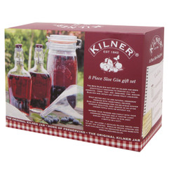 Sloe Gin Gift Set by Kilner Preserving Equipment