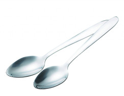 Two Stainless Steel Grapefruit Spoons