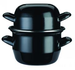 Enamelled Steel 12cm Mussels Pot