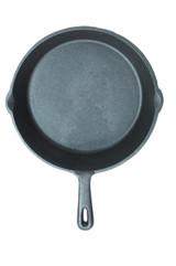 Clearview Deluxe Cast Iron 24cm Round Plain Grill Pan