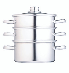Clearview Stainless Steel Three Tier 16cm Steamer