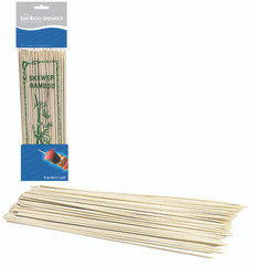 Bag of One Hundred 20cm Bamboo Skewers