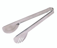 Stainless Steel Deluxe Serving Tongs