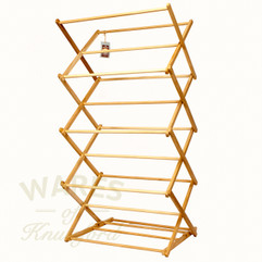 Folding Clothes Airer - Wooden frame