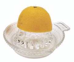 Glass Lemon / Citrus Fruit Squeezer