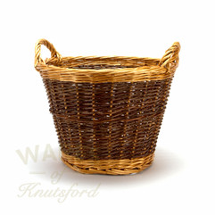 Wicker Log Basket Small
