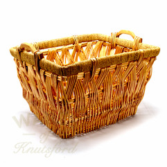 Wicker Log Basket Rectangular