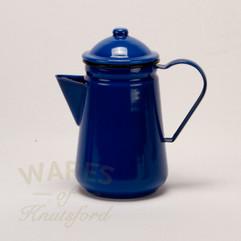 Falcon Enamel Coffee Pot Blue