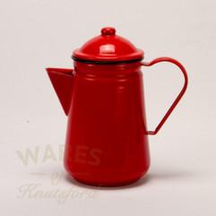 Falcon Enamel Coffee Pot Red