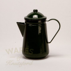 Falcon Enamel Coffee Pot Green