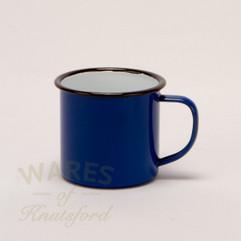 Falcon Enamel Mugs Blue (Set of 4)