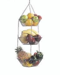 Three Tier Hanging Vegetable / Fruit Basket