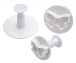 Three Butterfly Fondant Plunger Cutters