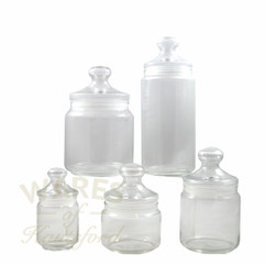 Pot Club Storage Jars (Set of 5)