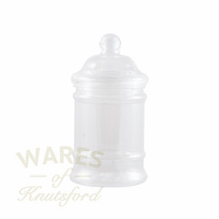 380ml Clear Plastic Victorian Pet Jar